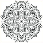 Mandala Flower Coloring Pages Beautiful Photos Flower Mandala Coloring Pages Best Coloring Pages For Kids