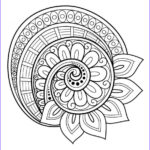 Mandala Flower Coloring Pages Best Of Photos Flower Mandala Coloring Page Free …