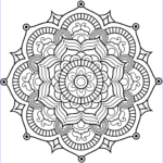 Mandala Flower Coloring Pages Cool Photos Flower Mandala Coloring Page