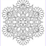 Mandala Flower Coloring Pages Inspirational Photos Get This Flowers Mandala Coloring Pages For Adults Ycv41
