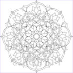 Mandala Flower Coloring Pages Luxury Photos 24 Flower Mandala Printable Coloring Page