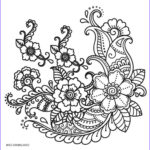 Mandala Flower Coloring Pages New Image Free Printable Flower Coloring Pages For Kids