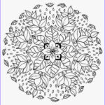 Mandala Flower Coloring Pages New Stock Mandala Flower Coloring Pages Difficult Free Mandala