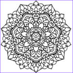Mandalas Coloring Book Awesome Photos Heart Mandala Coloring Pages For Adults