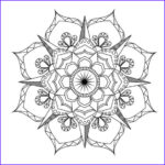 Mandalas Coloring Book Cool Collection Flower Mandala Coloring Page Adult Coloring Art Therapy