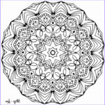 Mandalas Coloring Book Unique Photos Color Your Stress Away With Mandala Coloring Pages