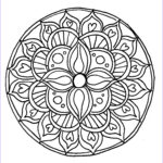 Mandalas Coloring Pages Beautiful Collection How To Draw A Mandala With Free Coloring Pages