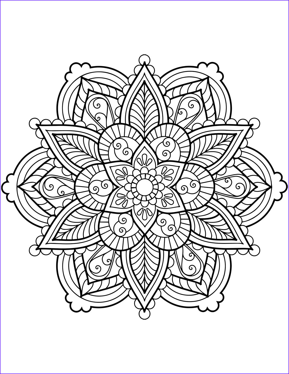 Mandalas Coloring Pages Best Of Image Flower Mandala Coloring Pages Best Coloring Pages for Kids