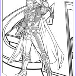 Marvel Coloring Book Beautiful Photos Coloriage Thor The Avengers A Blogueur