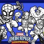 Marvel Superhero Coloring Pages New Gallery Marvel Avengers Coloring Page