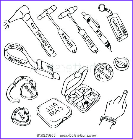 medical coloring pages