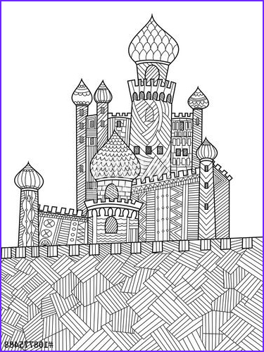 Medieval Coloring Book Elegant Photos 741 Best Images About Adult Colouring Buildings Houses