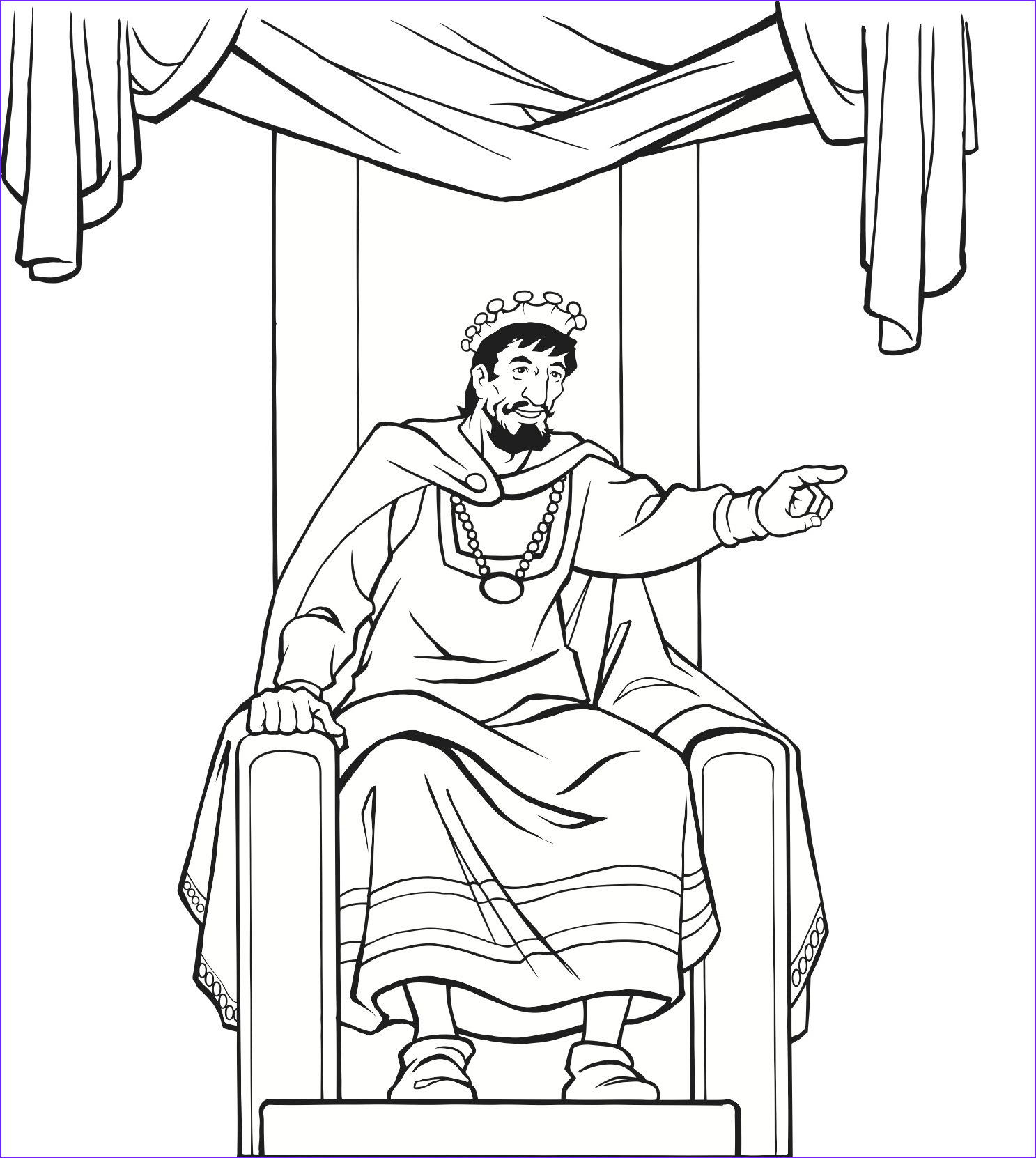 Medieval Coloring Book Unique Stock King Throne Drawing at Getdrawings