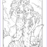 Mermaid Adult Coloring Book Awesome Collection 17 Best Images About Kewl My Time Coloring Art On