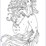 Mermaid Coloring Book Inspirational Photos 268 Best Images About Coloring Pages Sea Mermaid Etc