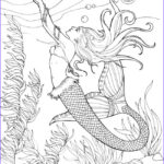 Mermaid Coloring Books For Adults Beautiful Photos Mermaid Coloring Pages For Adults Best Coloring Pages
