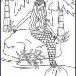 Mermaid Coloring Pages Beautiful Photos Beautiful Mermaid Coloring Pages