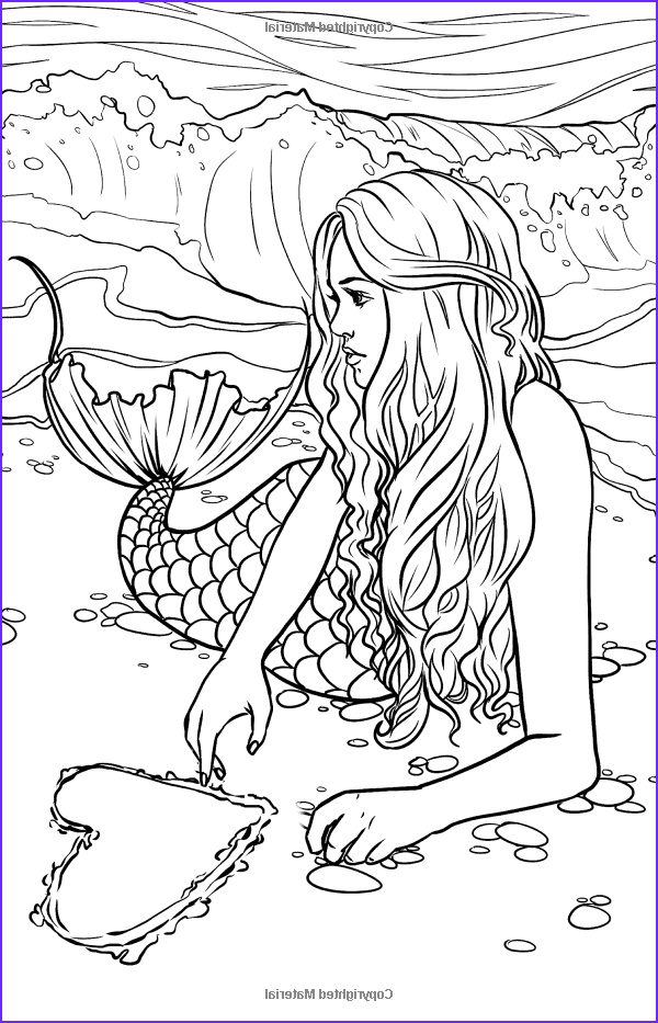 Mermaid Coloring Pages Cool Photography Artist Selina Fenech Fantasy Myth Mythical Mystical Legend