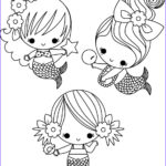 Mermaid Coloring Pages Inspirational Photos Cute Coloring Page Mermaids