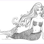 Mermaid Coloring Pages New Gallery Free Printable Mermaid Coloring Pages For Kids