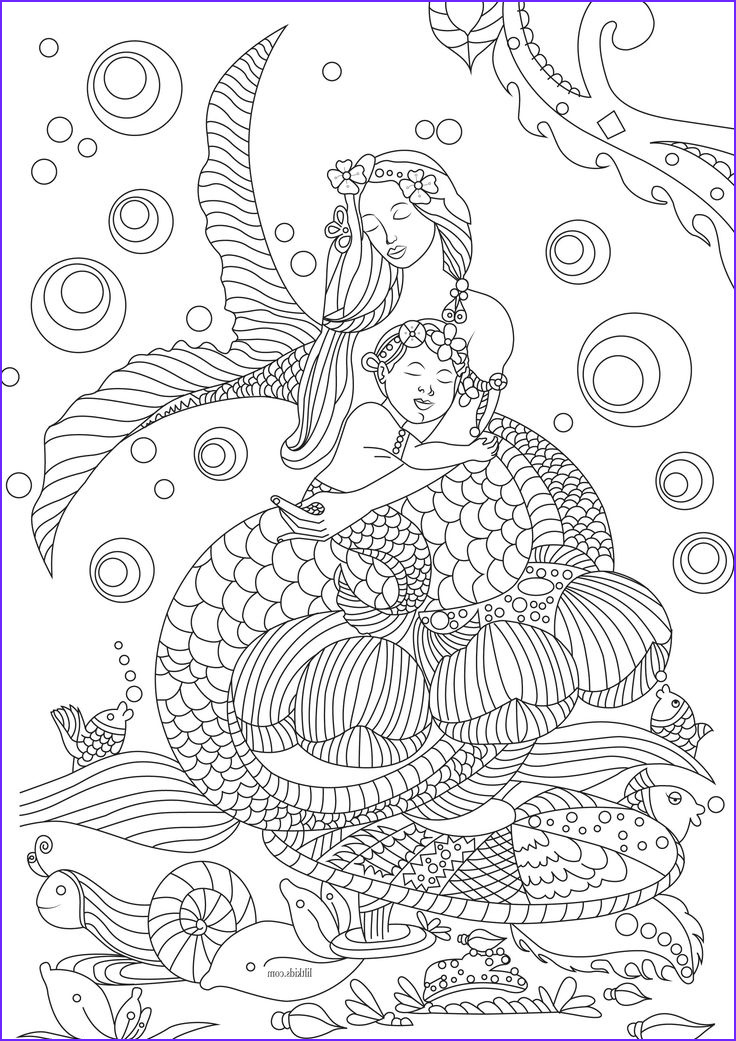 Mermaid Coloring Pictures Luxury Photos 460 Best Images About Mermaid Coloring Sheets On Pinterest