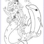 Mermaid Coloring Sheets Beautiful Photos Barbie Mermaid Coloring Pages Printable