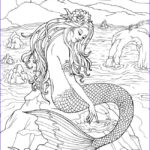 Mermaid Coloring Sheets New Photos Wel E To Dover Publications … Coloring Pages