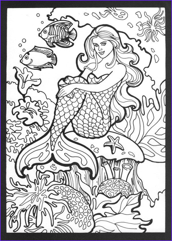 mako mermaids coloring pages