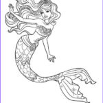 Mermaid Coloring Sheets Unique Photography 30 Stunning Mermaid Coloring Pages