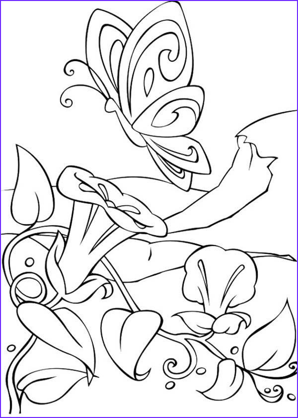 amazing world of barbie fairytopia coloring pages