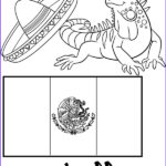 Mexico Coloring Flag Beautiful Collection Free Coloring Page Mexican Flag Educational Coloring Sheet