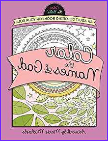 Michaels Adult Coloring Books Unique Images Amazon Color the Names Of God An Adult Coloring Book