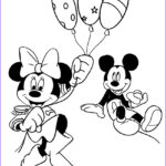 Mickey And Minnie Mouse Coloring Pages Beautiful Image Printable Minnie Mouse Coloring Pages For Kids