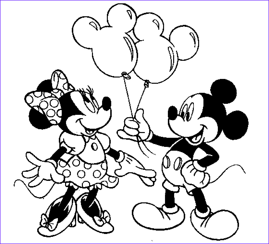 mickey mouse and minnie mouse for kid