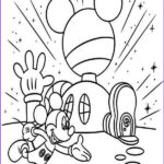 Mickey Mouse Club House Coloring Elegant Image Mickey Mouse Clubhouse Mickey In Front Of His Clubhouse