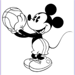 Mickey Mouse Coloring Pictures Awesome Photos Classic Mickey Mouse Coloring Pages