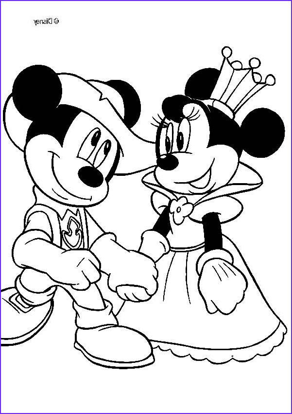 queen minnie and knight mickey mouse