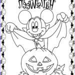 Mickey Mouse Coloring Pictures New Collection Minnie And Mickey Mouse Coloring Pages For Halloween