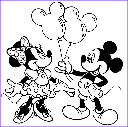 Mickey Mouse Printable Coloring Pages Elegant Image Free Minnie Mouse Printables