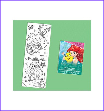 Mini Coloring Books Party Favor Luxury Photography Little Mermaid Mini Colouring Books Party Supplies In