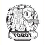 Mini Coloring New Photography Tobot Coloring Pages To And Print For Free