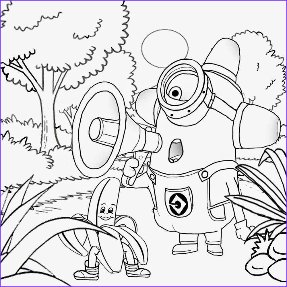 Minion Coloring Book Awesome Photos Free Coloring Pages Printable to Color Kids