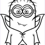 Minion Coloring Book Elegant Collection Vampire Minion Coloring Pages And Print For Free
