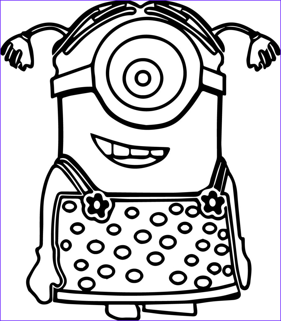 Minion Coloring Book Inspirational Collection Minion Coloring Pages Best Coloring Pages for Kids