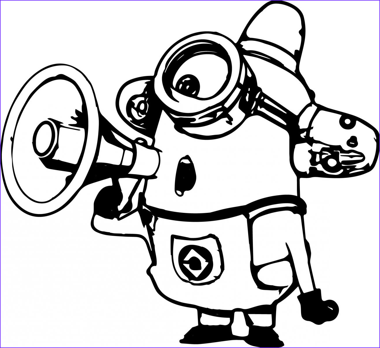 Minion Coloring Page Beautiful Collection Goo S © Despicable Me