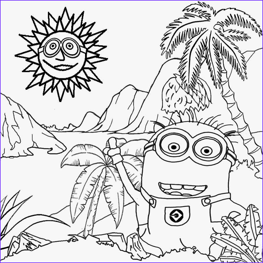 Minion Coloring Page Beautiful Photography Free Coloring Pages Printable to Color Kids