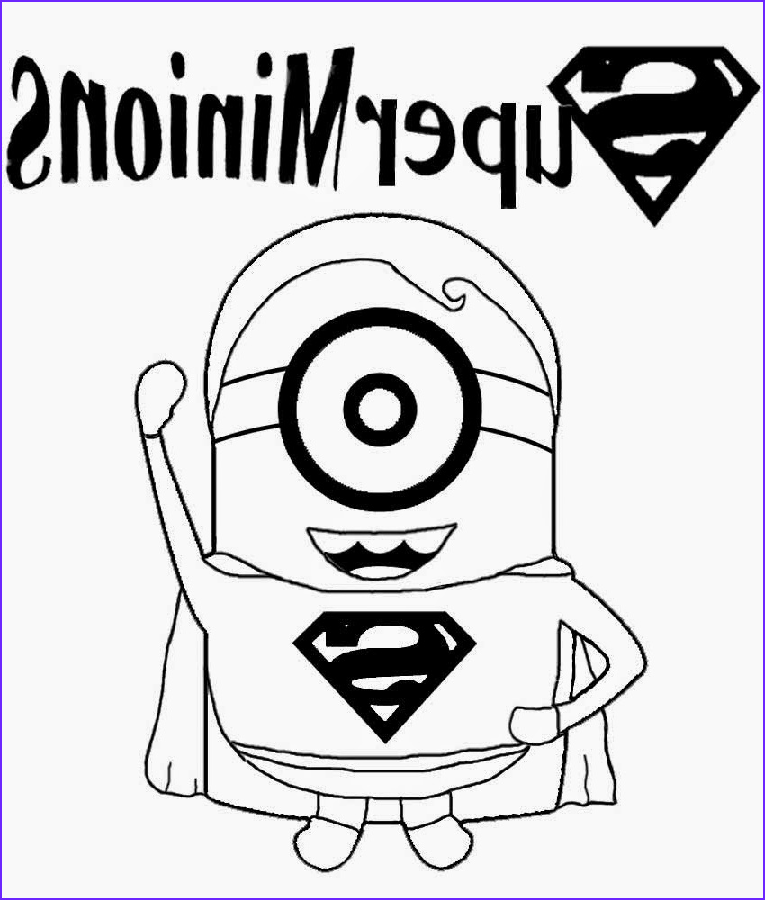 Minion Coloring Page Cool Collection Free Coloring Pages Printable to Color Kids