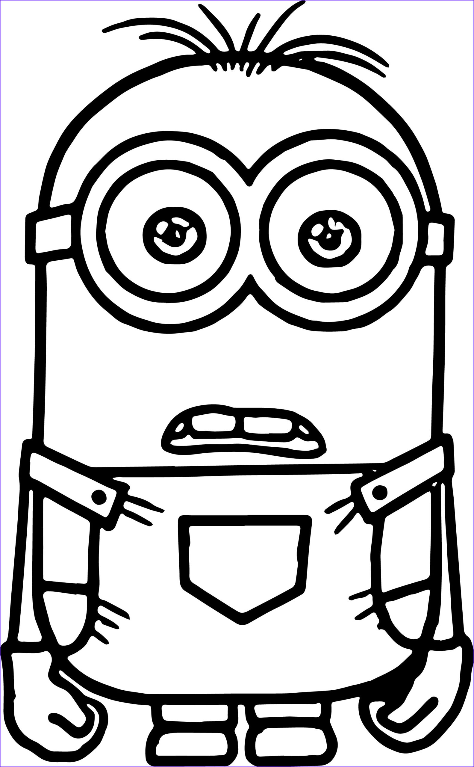 Minion Coloring Page New Images Minion Coloring Pages