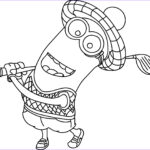 Minion Coloring Pages Pdf Cool Stock Minions Coloring Pages