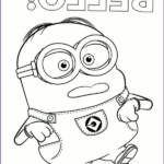 Minion Coloring Pages Pdf Elegant Photography High Quality Bello Clumsy Minion To Color To Print For Free